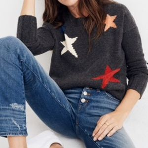 Madewell Starry Star Night Pullover Sweater